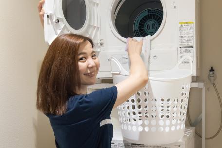 各階共用タイプの乾燥機
